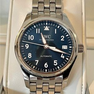 IWC Pilot's Watch 36mm, Automatic Blue Dial